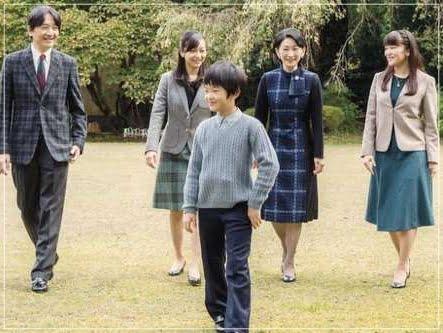 秋篠宮家,画像
