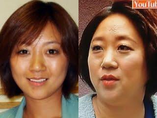 美奈子の昔と現在比較,激太り画像