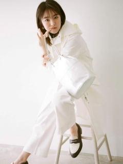 唐田えりか『MORE』の雑誌画像