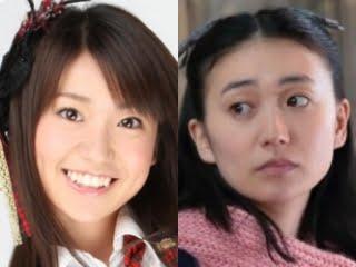 大島優子の昔の写真と現在比較画像,全盛期