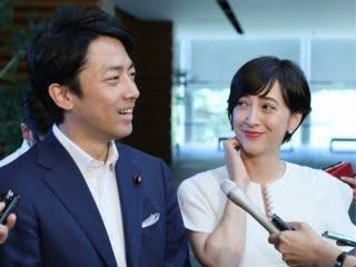 小泉進次郎と滝川クリステルの顔画像