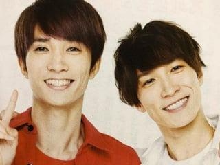 渡辺翔太と田中樹の顔画像