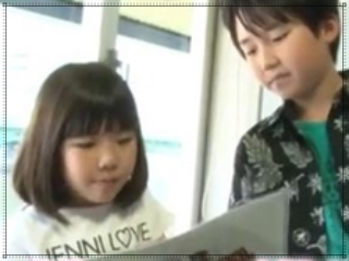 石橋陽彩と妹の画像,カラオケバトル