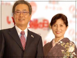 岡江久美子と大和田獏の画像
